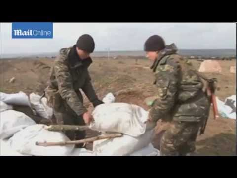Preparations in Ukraine Army