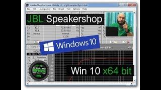 Как установить JBL Speakershop на Windows 10 x64 bit