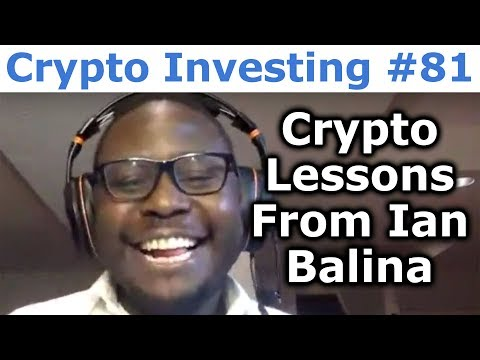 """Crypto Investing #81 - Crypto Lessons From Ian Balina From """"Hacking The System"""" - By Tai Zen"""