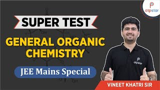Previous Years IIT JEE Questions on general organic chemistry