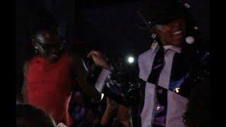 Janelle Monae & Lupita Nyong'o dancing together, NYC 4-23-18
