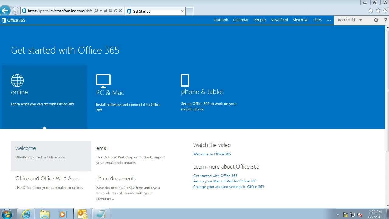 office 365 home login