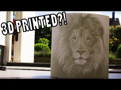 3D Printing Your Photos - Lithophanes