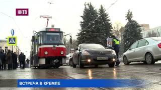 Сегодня в Нижнем Новгороде презентовали новый трамвай