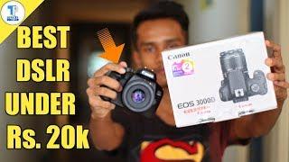 Canon EOS 3000D: Flipkart Retail Unit Unboxing !