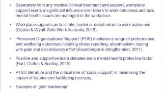 ON Series: Managing mental health issues in the workplace