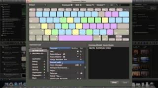 كيفية إنشاء اختصارات لوحة المفاتيح المخصصة في Final Cut Pro X