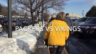 Packers Fan Experience: Packers vs Vikings on Christmas Eve