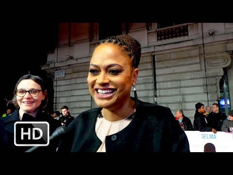 Selma - Ava DuVernay interview at the premiere in London