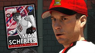 SHOW'S FINEST MAX SCHERZER TAKES THE MOUND!! MLB THE SHOW 18 DIAMOND DYNASTY