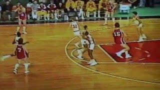 1985 Indiana vs Soviet Union(USSR) basketball Arvydas Sabonis Steve Alford
