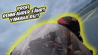 Rennfahrer fährt die Yamaha R6!?