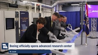 Boeing officially opens advanced research center