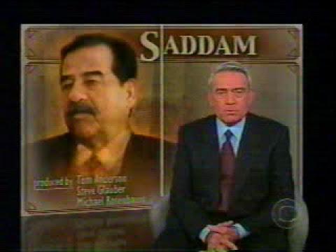 Hero Saddam; Last Interview 2003 by  Dan Rather