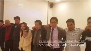 APO Toast Song - APO Riyadh Alumni Association