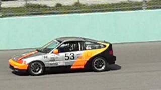 Race CRX on front straight @ NASA HPDE Race Event Thumbnail