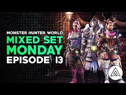 Mixed Set Monday #13 | Dragon Insect Glaive, Sleep Gunlance & Spreadshot HBG