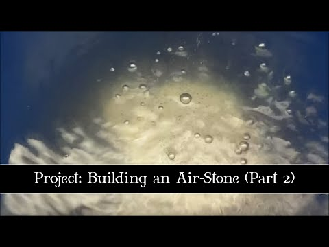 DIY: Building an Air-Stone (Part 2).