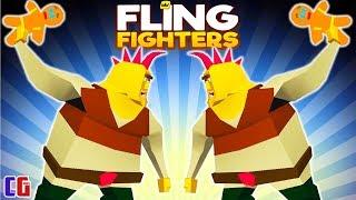 Fling Fighters ЭПИЧЕСКИЕ СРАЖЕНИЯ СУПЕР ГЕРОЕВ Веселая игра про БИТВУ БОССОВ от Cool GAMES