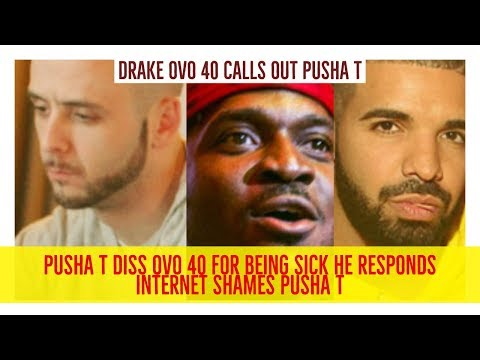 Drake OVO 40 RESPONDS to Pusha T Dissing Him For Having Disease. Internet Destroys Pusha T
