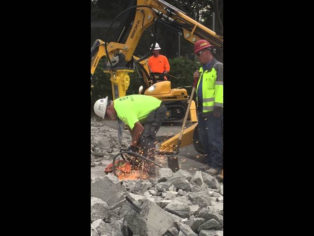 Robotic Demolition Training Course Jan '16