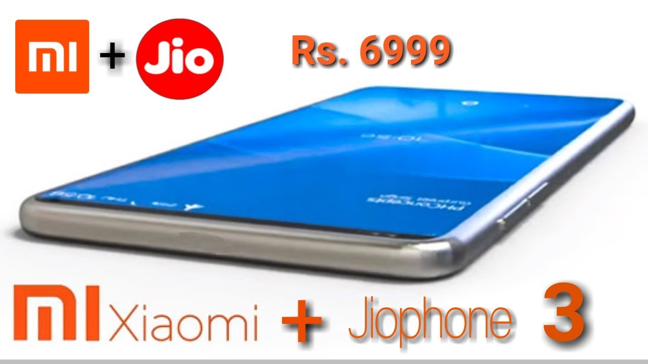 Jiophone 3 Made By Xiaomi Official News Jio And Xiaomi Contract Youtube Xiaomi Tv App 4g Mobile Phones