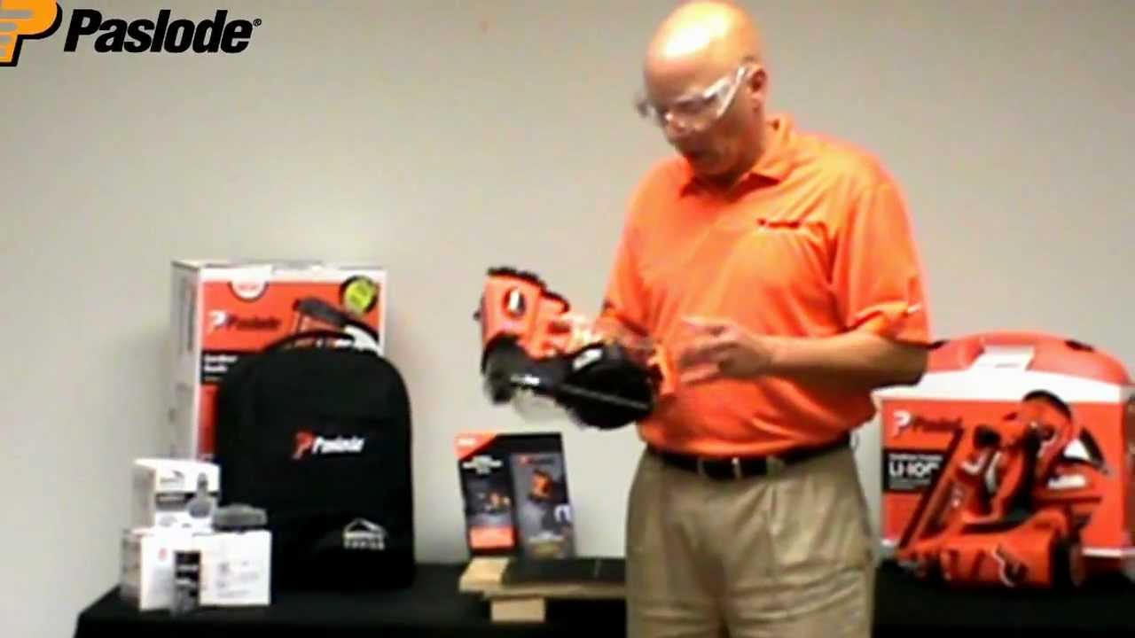 Paslode Cordless Roofing Nailer - Troubleshooting - YouTube