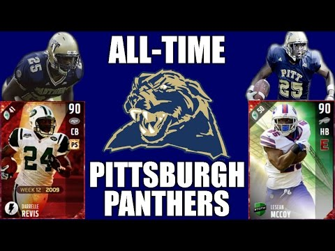 All-Time Pittsburgh Panthers Team - Darrelle Revis and LeSean McCoy! - Madden 17 Ultimate Team