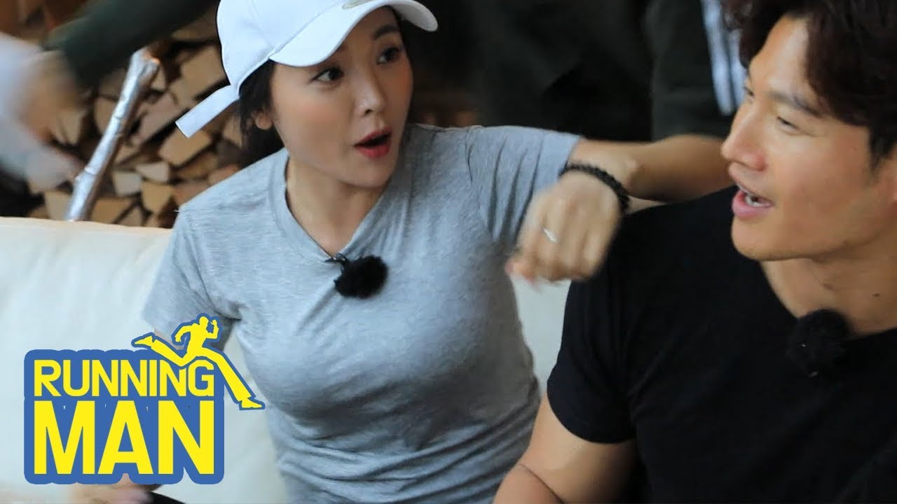 """Hong Jin Young """"Who said that you could act?"""" [Running Man Ep 408]"""