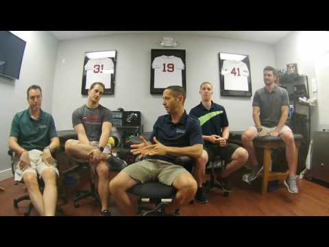Training for baseball Pitchers, Submarine Mechanics, and Inseason Nutrition