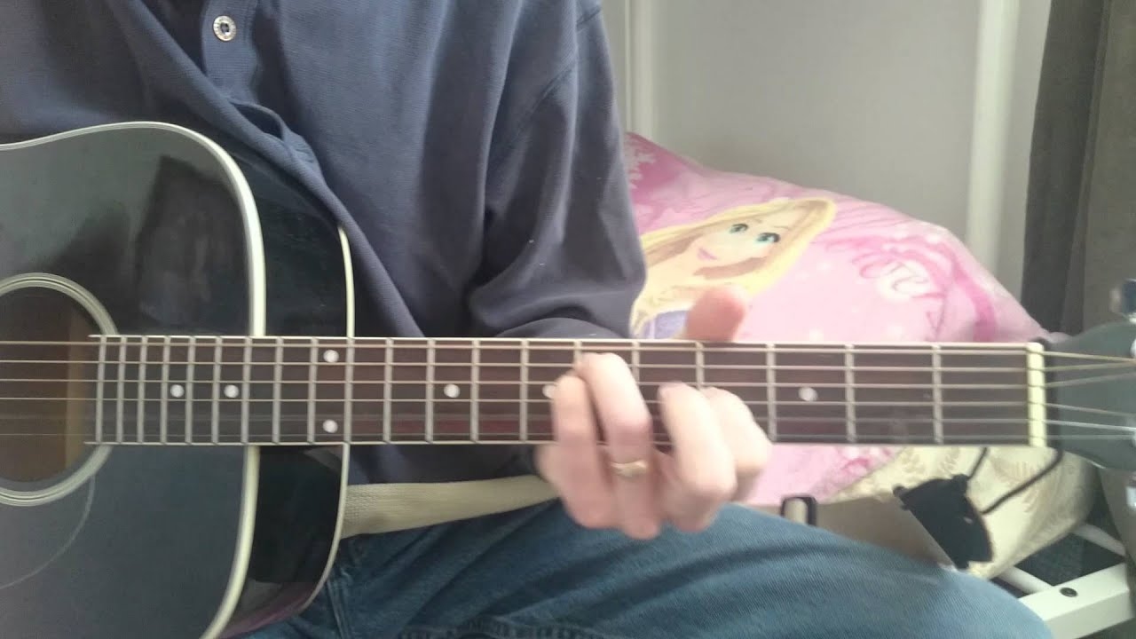 how to make a guitar cover on youtube