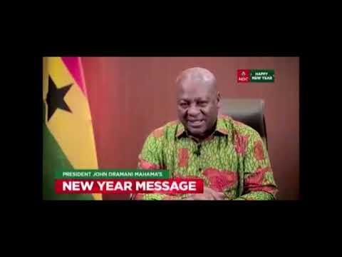 2020 New Year message by John Mahama