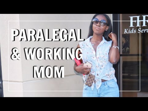 PARALEGAL & WORKING MOM | DAY IN THE LIFE