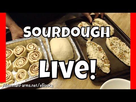 how to make sourdough bread youtube