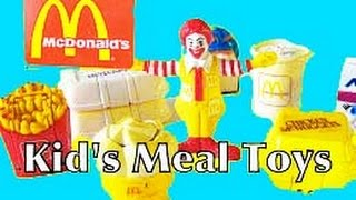 McDonalds Happy Meal Magic McNugget Nuggets French Fries Hamburgers Surprise Toys Kids Video