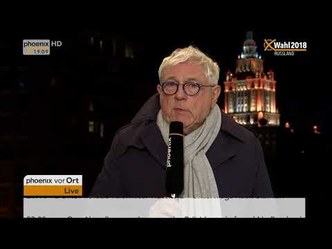 Präsidentschaftswahl in Russland: Bernhard Lichte und Prof. Martin Aust am 18.03.2018