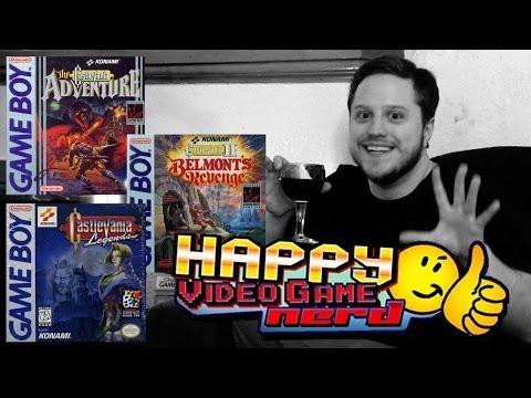 Happy Video Game Nerd: Castlevania Gameboy Trilogy (Adventure / Belmont's Revenge / Legends)