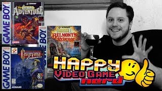 Happy Video Game Nerd: Castlevania Gameboy Trilogy (Adventure / Belmont's Revenge / Legends)