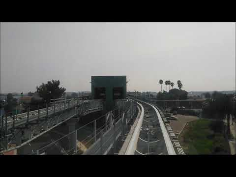 BART service from Coliseum to Oakland International Airport.