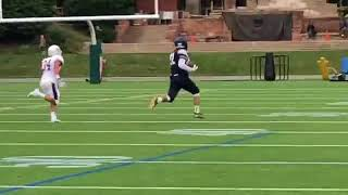Jack Fairman's Interception and TD v UofD