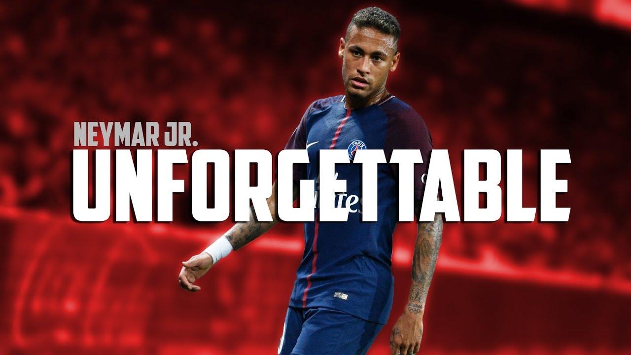 Download Neymar Jr. - Unforgettable   PSG Skills & Goals 2017/18   HD