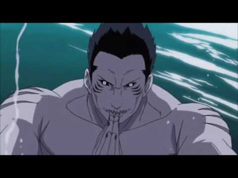 Might Gai vs Kisame (English Dub)