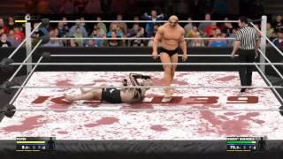 WWE 2k17 Popek Vs Robert Burneika 2017 Video