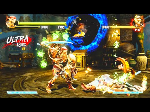 Killer Instinct All Ultra Combos Season 1 & 2 HD 60FPS 1080p