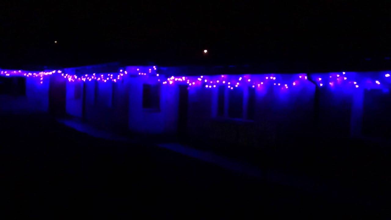 900 ledowych boonarodzeniowych lampek uv 900 led uv christmas lights