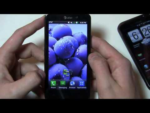LG Nitro HD vs. HTC Rezound Dogfight Part 1