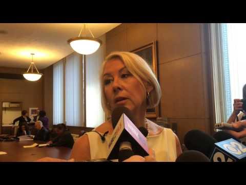 Mayor Jane Byrne