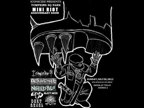 TOMPKINS SQUARE PARK MINI RIOT SHOW July 29, 2012 *COMPLETE SHOW!*
