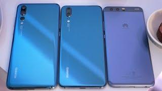 Download Video Huawei P20 Pro vs Huawei P20 vs Huawei P10 MP3 3GP MP4