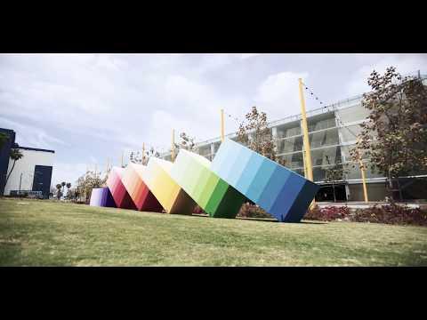 Andrew Schoultz x ROAM Santa Monica Public Art Installation
